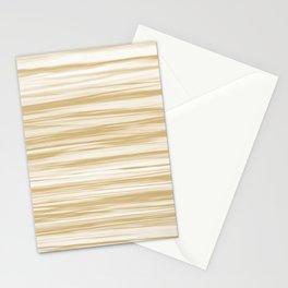 Beige Soft Focus Motion Watercolor Blend Stripes Rustoleum Sunlit Brass (beige) Stationery Cards