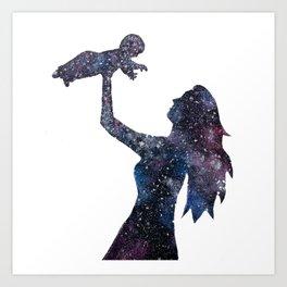 Her Whole Universe Art Print