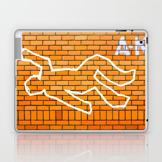 Crime Scene Laptop & iPad Skin