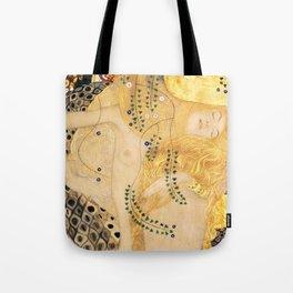 Water Serpents - Gustav Klimt Tote Bag