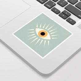 Yellow Eye Sticker