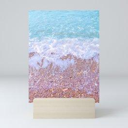 Calm waters Mini Art Print