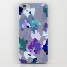 Crystallized Orchid iPhone & iPod Skin