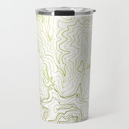 Secret places I - handmade green map Travel Mug