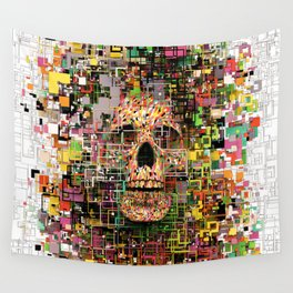White Noise Wall Tapestry