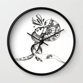 Abe & Alex Wall Clock