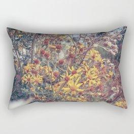 Vintage Flowers Rectangular Pillow