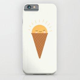 Sunshine Ice Cream Cone iPhone Case