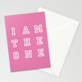 I AM THE ONE Stationery Cards