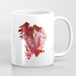 Digivolution Biyomon Crest of Love Coffee Mug