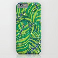 Green tropic Slim Case iPhone 6s