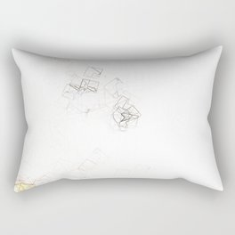 square fantasy tiny details Rectangular Pillow