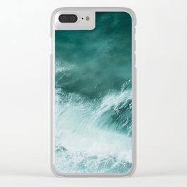 Ocean Roar Clear iPhone Case