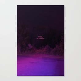 Feel Nothing Canvas Print