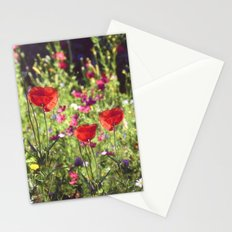 A floral spot on Earth Stationery Cards