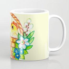 CHICKS-IN-A-BASKET Coffee Mug