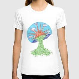 Sunrise Mushroom T-shirt