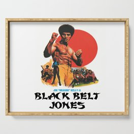 Black Belt Jones Serving Tray