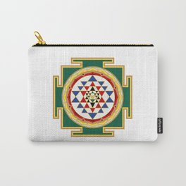 Sri Yantra colored Carry-All Pouch