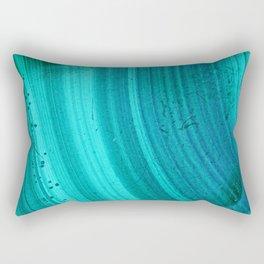 Turquoise Halos Rectangular Pillow