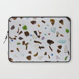 Beer Bottle & Beach Glass Laptop Sleeve