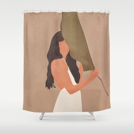 Shade of a Leaf Shower Curtain