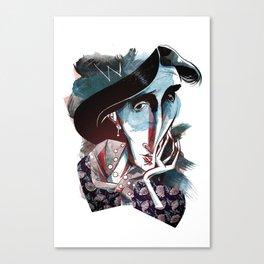 virginia w. Canvas Print