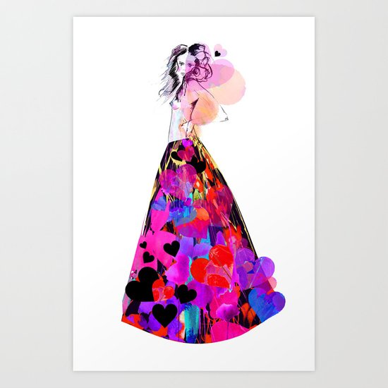 Be mine Art Print
