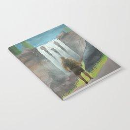 HK Bokuto's waterfall Notebook