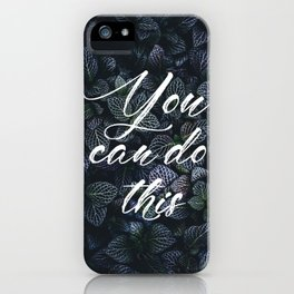 Fight for impossible iPhone Case