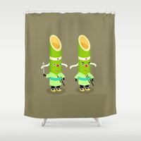muppet Shower Curtains featuring Bamboo brothers by simon oxley idokungfoo.com