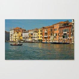 Venice waterways Canvas Print