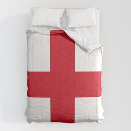 Flag of England - St. George's Cross Comforters