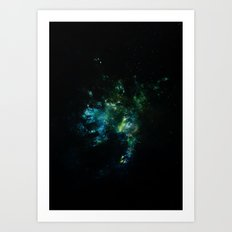 Abstract Space Art Art Print