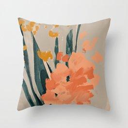 Bouquet Of Summer Citrus Throw Pillow