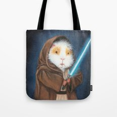 Jedi Guinea Pig Tote Bag