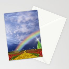 The Yellow Brick Road Stationery Cards