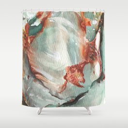 Jade Stone Shower Curtain