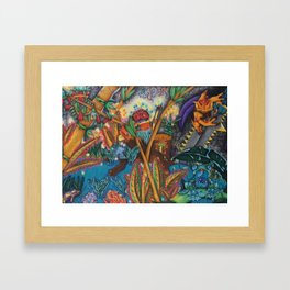 The Rising Darkness Framed Art Print