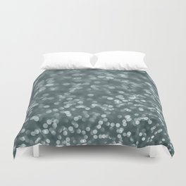 Ambient #2 in green pearl Duvet Cover