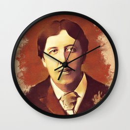 Oscar Wilde, Literary Legend Wall Clock