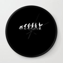 Funny Architect Evolution Architecture Gift Idea Wall Clock