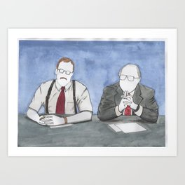 "Office Space - ""The Bobs"" Art Print"