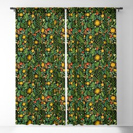 Sunshine Botanical - Dark Version Blackout Curtain