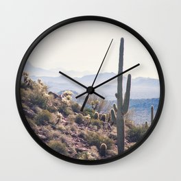 Superstition Wilderness Wall Clock