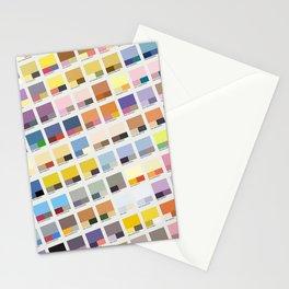 Poke-Pantone 1 (Kanto Region) Stationery Cards