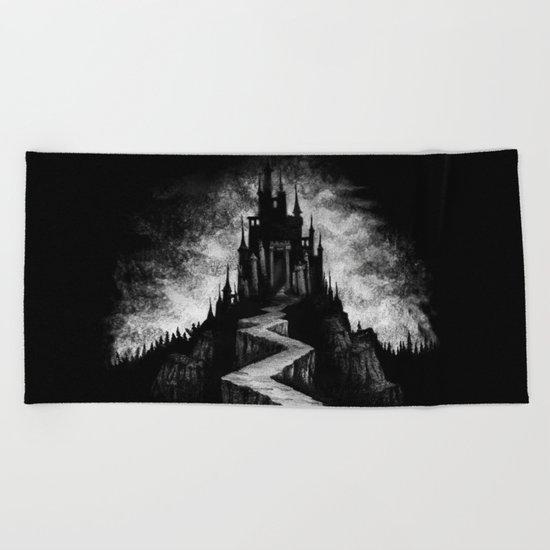 Vampire Castle Beach Towel