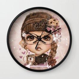 JAVA JOANNA  Wall Clock