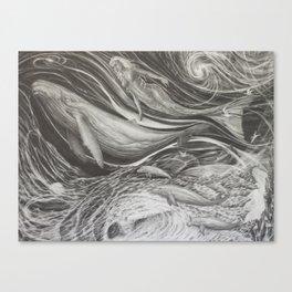 Deep Dive Canvas Print