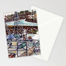 The Harbour 2, Figueira Da Foz, Portugal Stationery Cards